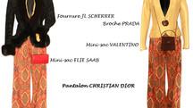Un ensemble Christian Dior ... deux possibilités