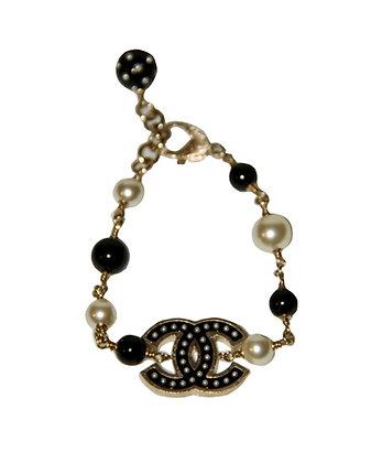 CHANEL Bracelet perles
