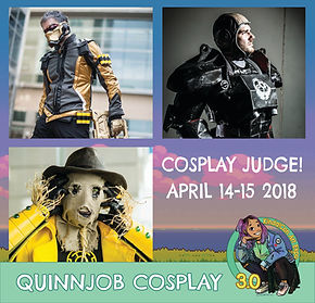 Quinnjob Cosplay Special Guest