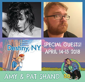 Amy & Pat Shand Special Guests