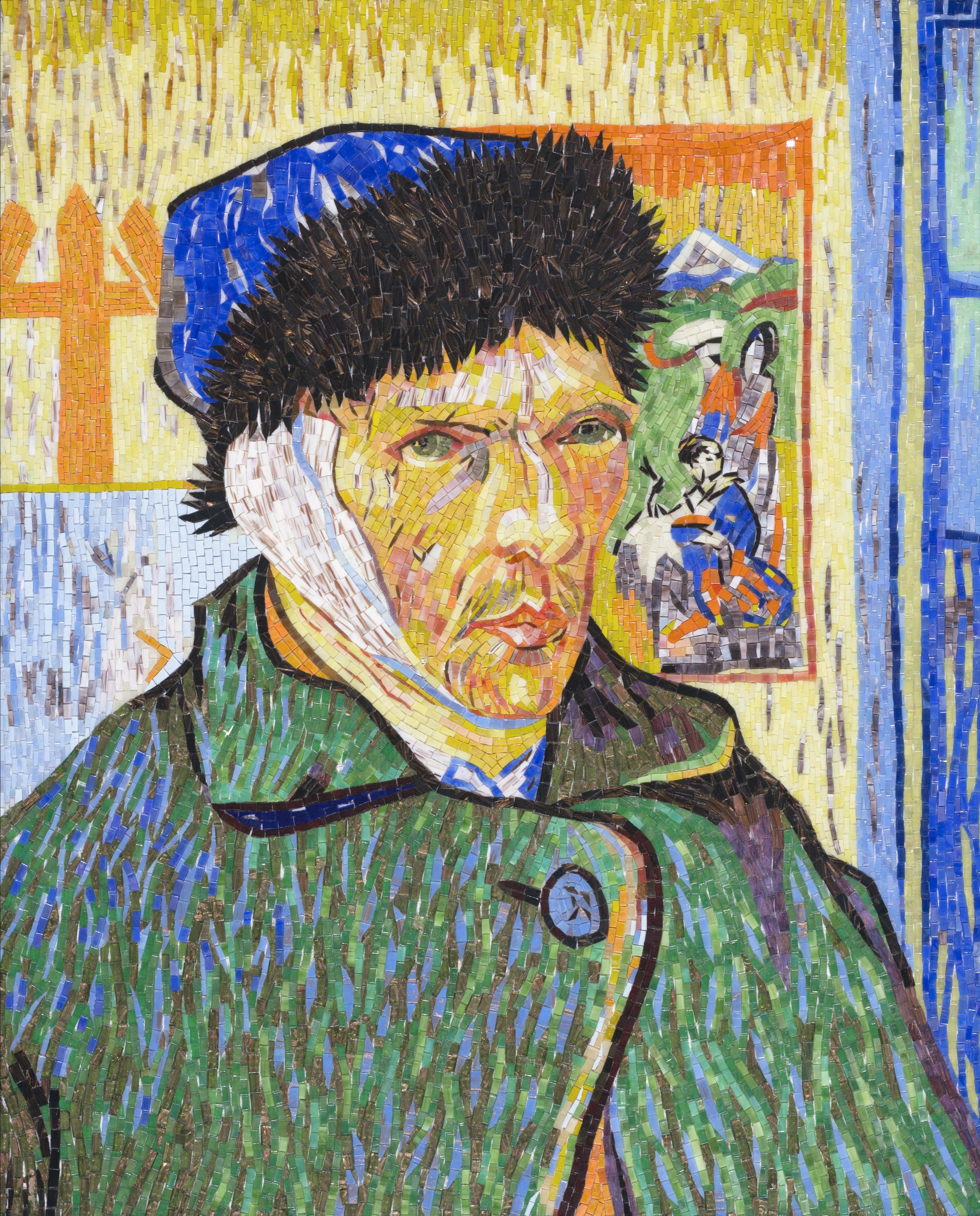Portrait with Bandaged Ear, Van Gogh