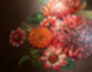 BellaVetro floral mosaic art interior design