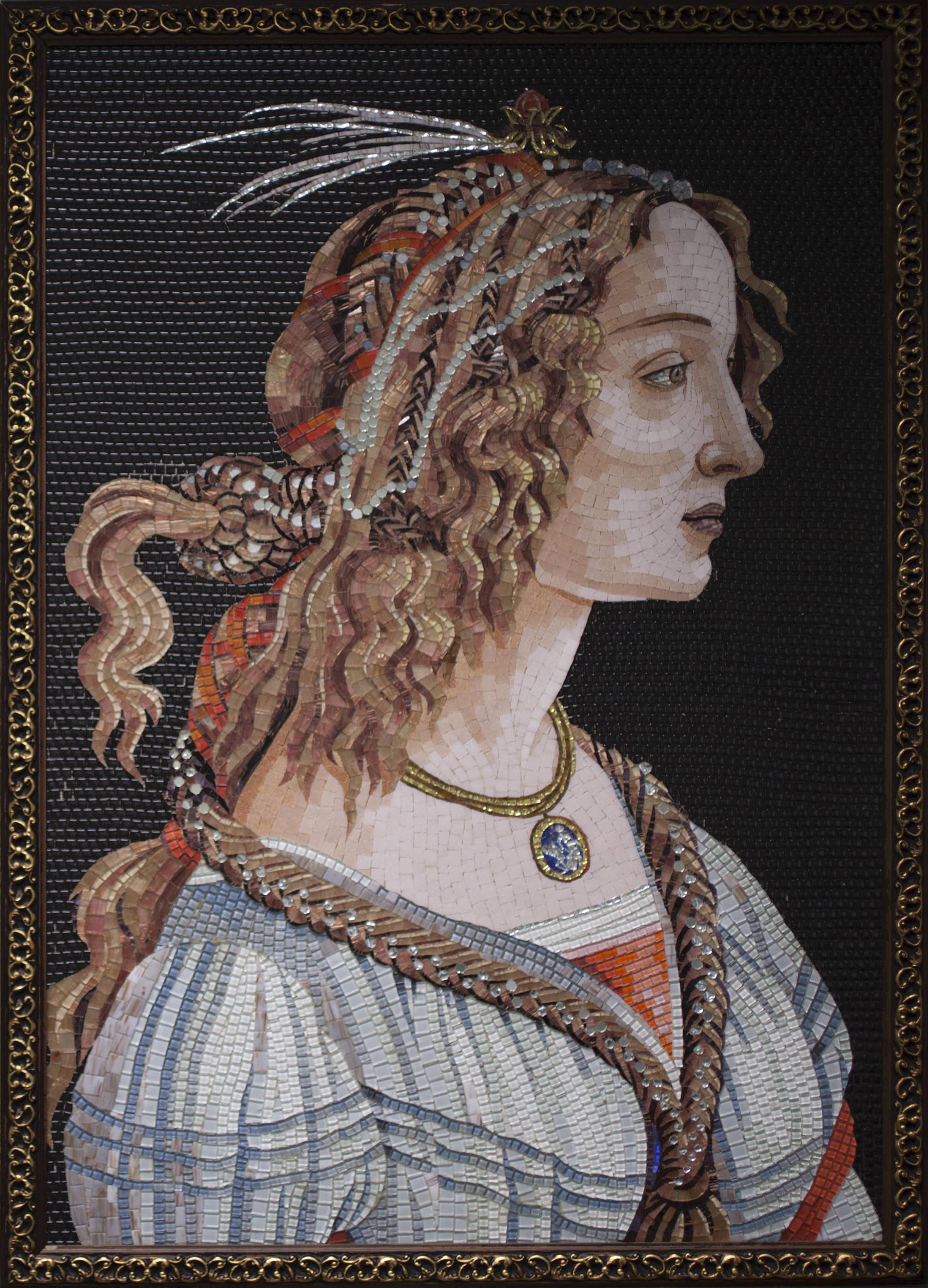 Boticelli, Idealized Portrait