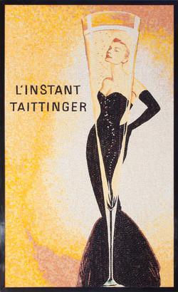 Taittinger Vintage Advertisement