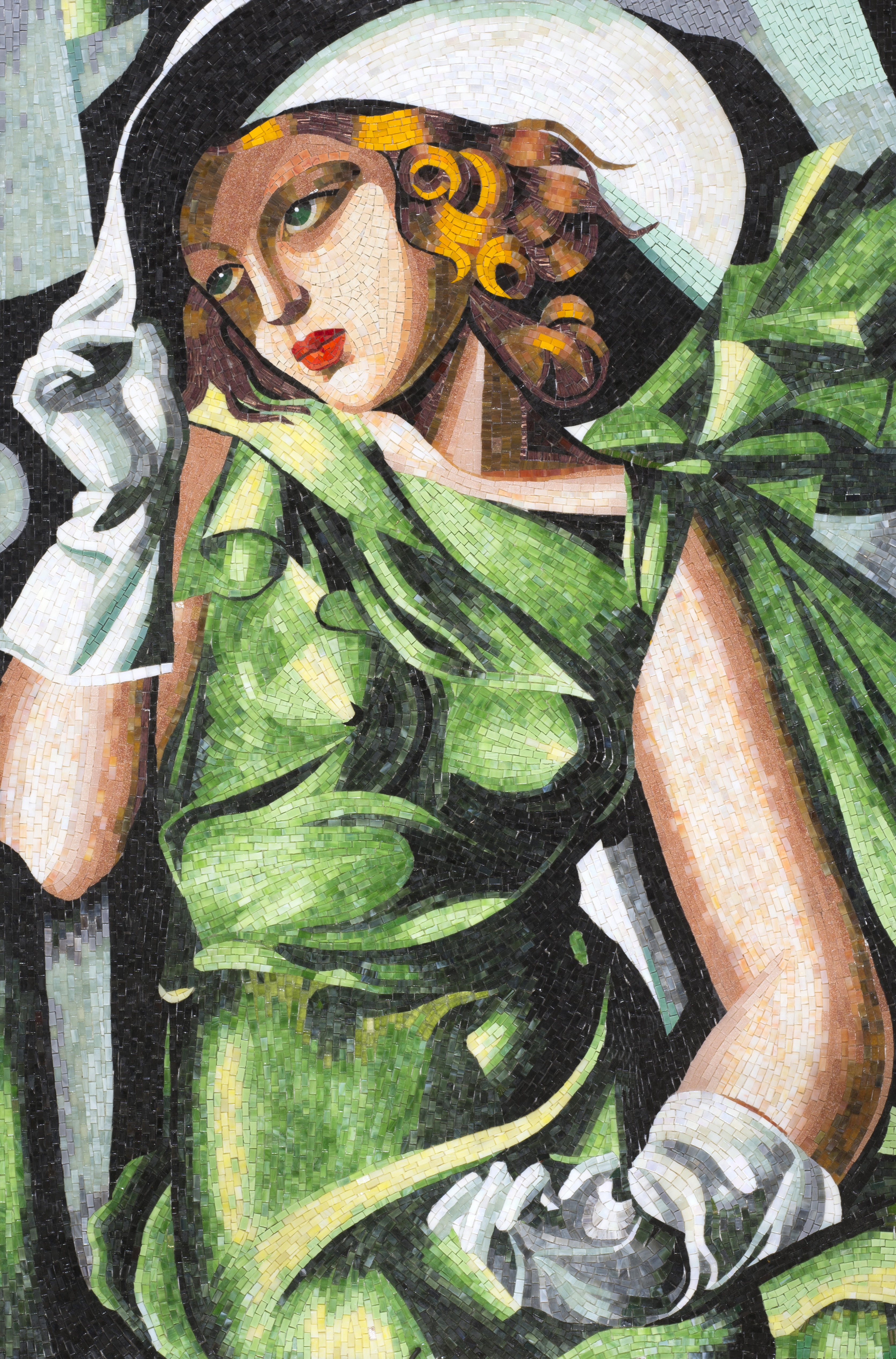Lempicka, Girl in Green with Gloves
