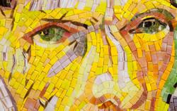 Portrait with Bandaged Ear, Eyes