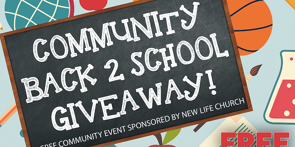 Community Back 2 School Giveaway