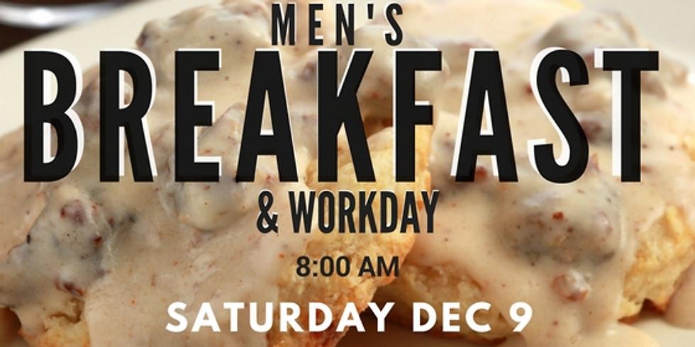 Mens Breakfast & Workday