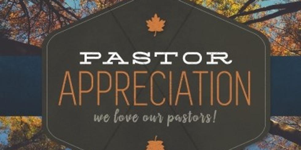 Pastor Appeciation
