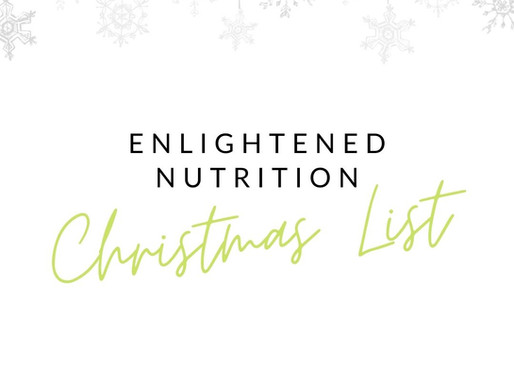 An Enlightened Nutrition Christmas List