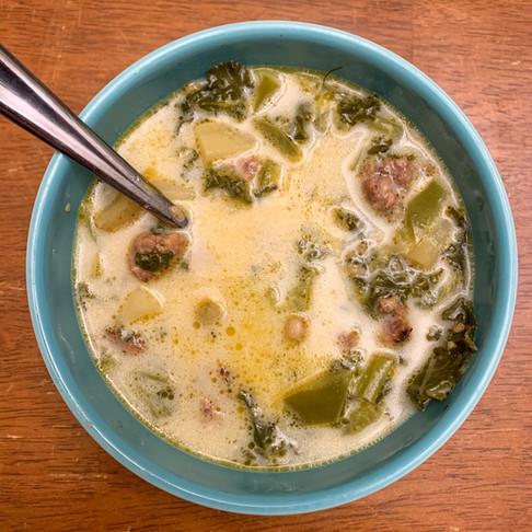 Copy Cat Olive Garden Zuppa Toscana Soup