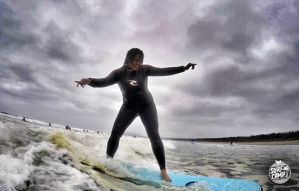Surfing at Surf Camp Australia