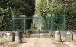 Entrée principale du château