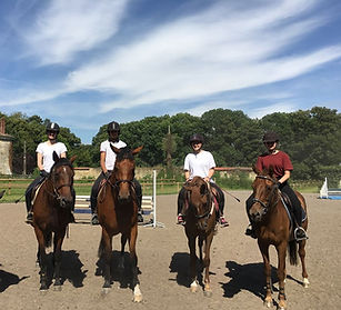 stage equitation val d'oise