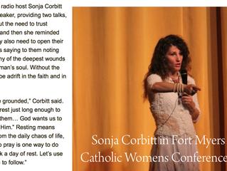 Sonja Corbitt, Kimberly Hahn, and Rosario Rodriguez to Speak at Upcoming SWFL Catholic Women's C