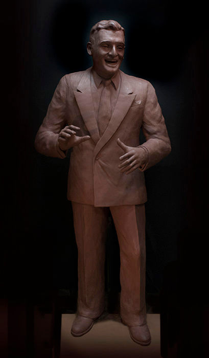 Website Lg-Frankie Laine Clay Sculpture.