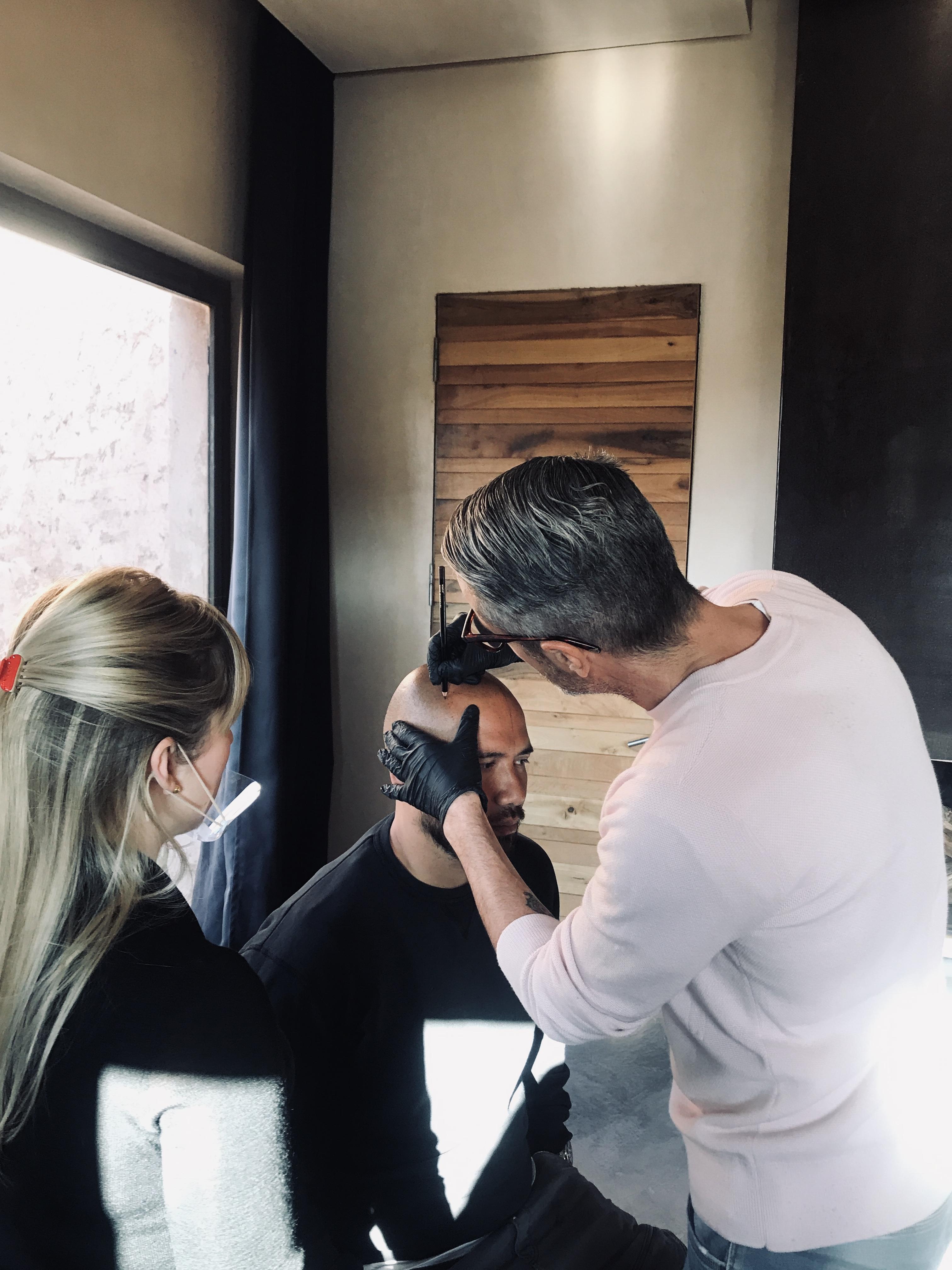 Apprendre Hair tattoo Maroc