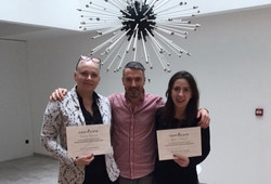 Hair tattoo training by Hugues, formation dermopigmentation capillaire, formation micropigmentation