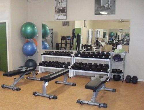 Dumbbells and Benches