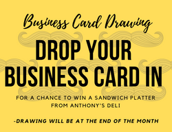 Business Card Drop In