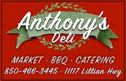 Anthonys Sponsor Sign