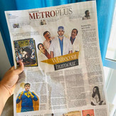 The hindu Newspaper - Ten Motion Arts - Jagdish Chaturvedi