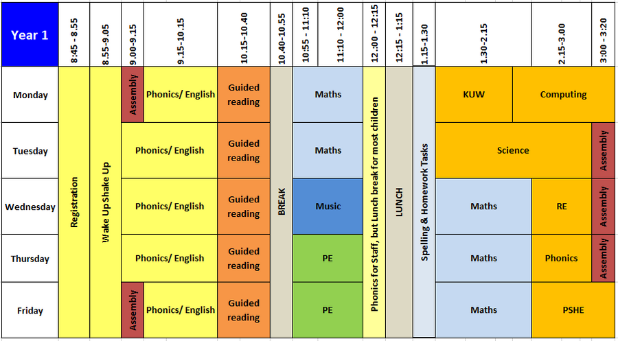 Year 1 Timetable Sept 2019.PNG