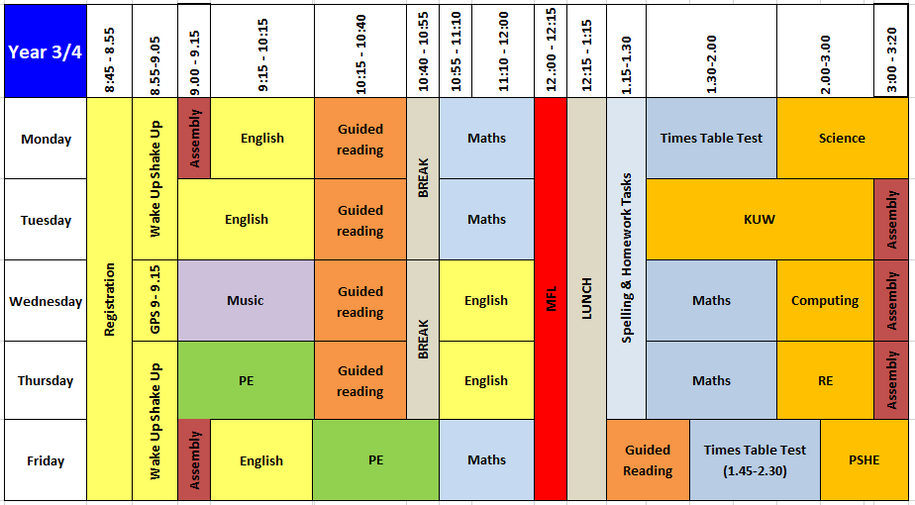 Year 3 4 Timetable Sept 2019.PNG