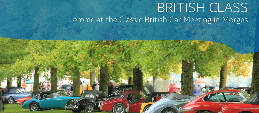 Jerome at The Swiss Classic British Car Meeting 2021