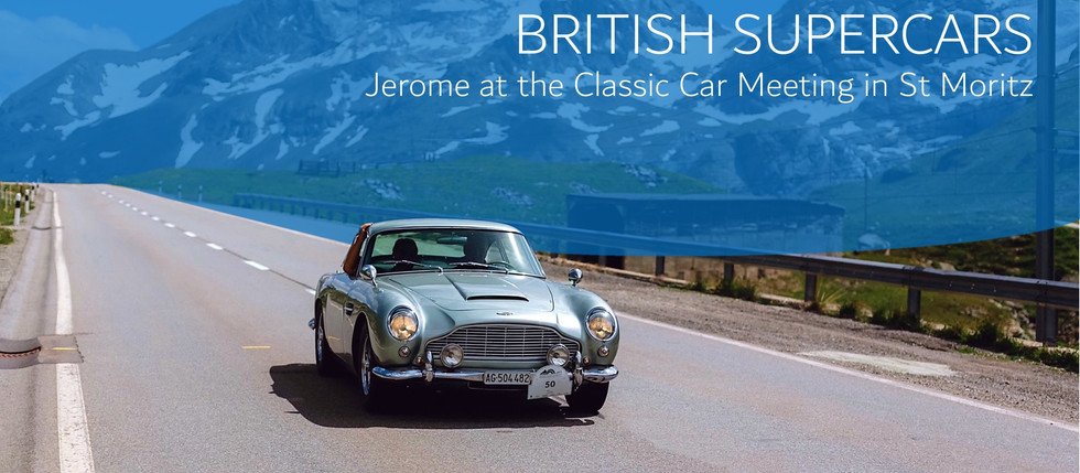 PURE at The British Classic Car Meeting St. Moritz 2021