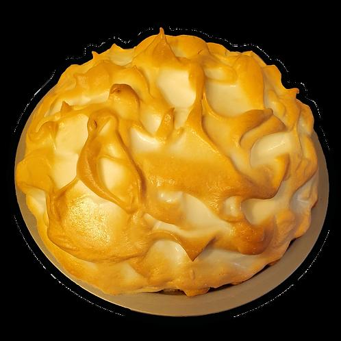 Coconut Cream Pie with Meringue Topping