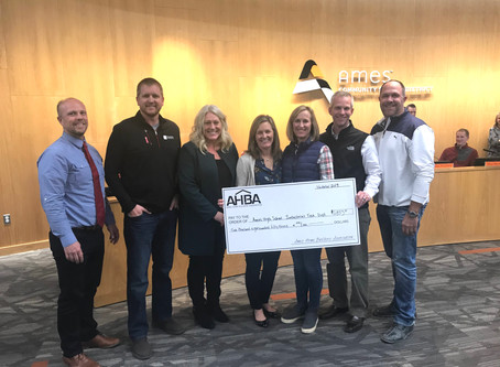 AHBA Provides Support to Ames High
