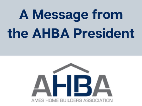 A Message from the ABHA President