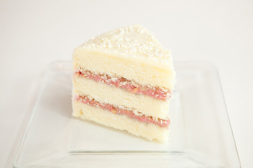 Snowy White Layer Cake