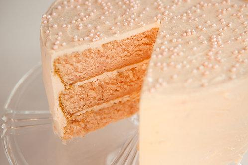 Champagne Celebration Layer Cake