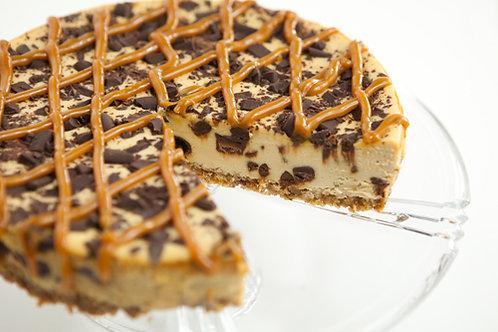 Caramel Chocolate Chunk Cheesecake