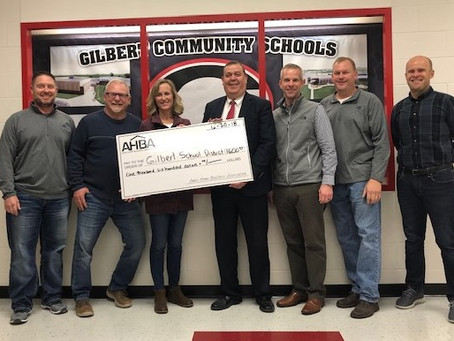 AHBA Grant Goes to Gilbert Building Trades Program