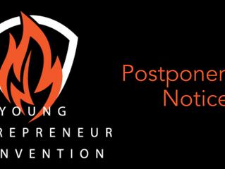 #YEConV Postponed to Fall 2020