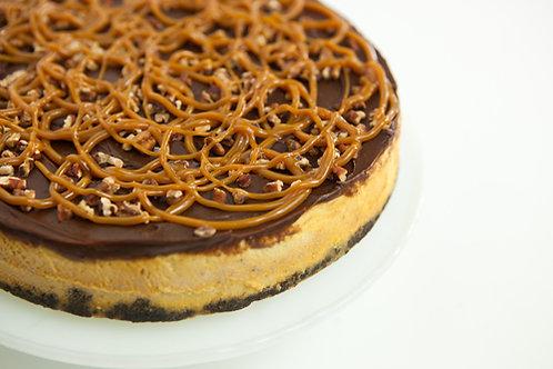 Decadent Turtle Cheesecake