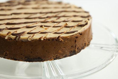 Peanut Butter Fudge Cheesecake