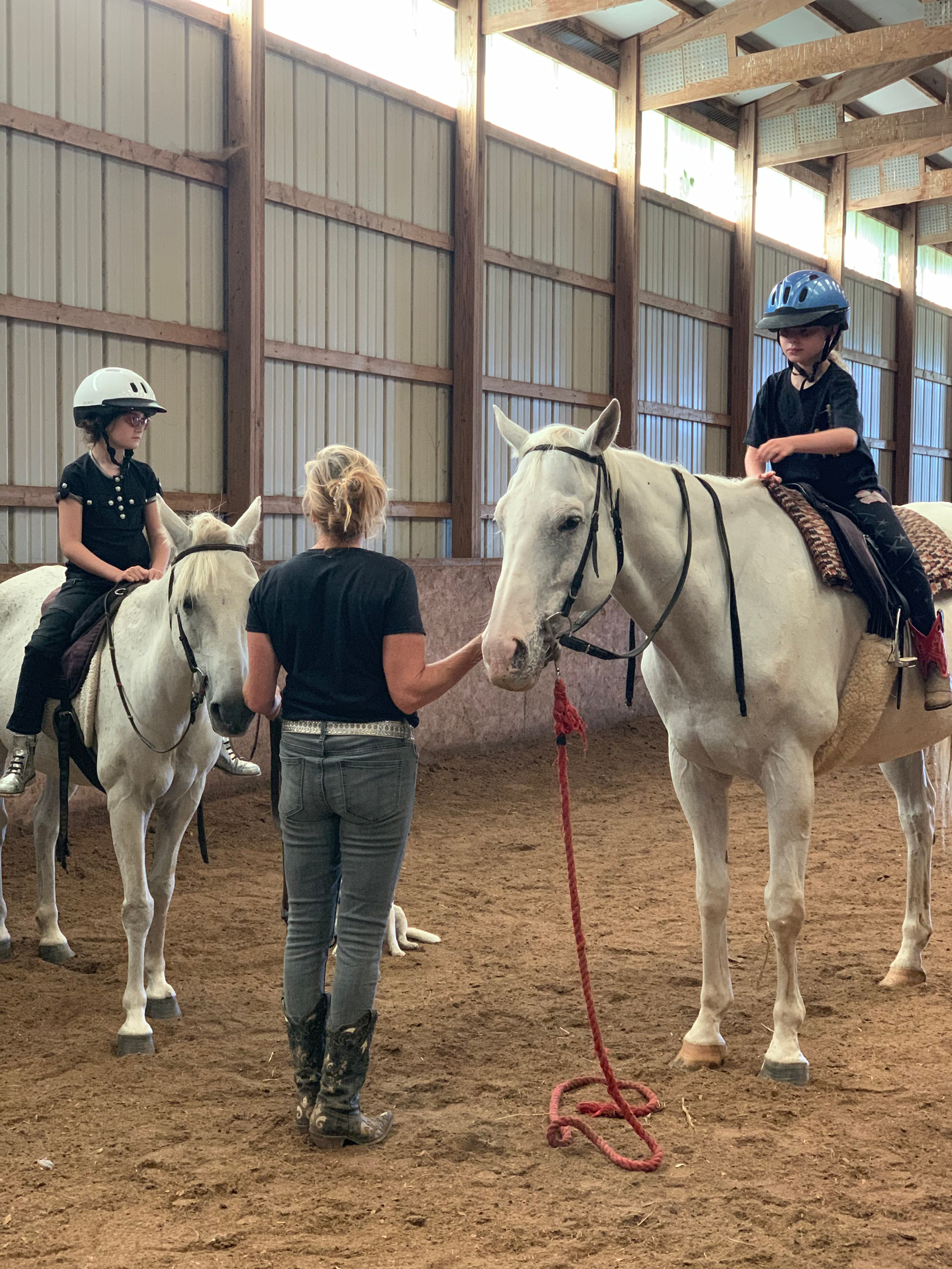 Children's Riding Lesson for Two