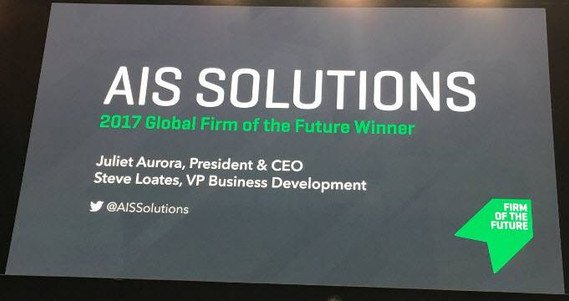 AIS Solutions, Firm of the Future Winner
