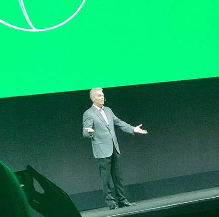 Brad Smith on the Main Stage