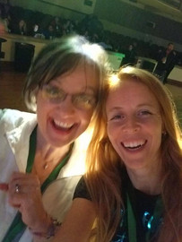 Jacquie Murphy and Melanie Terrien at QuickBooks Connect 2017