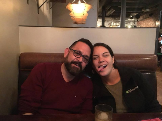 late night antics with Kaydee Peterson