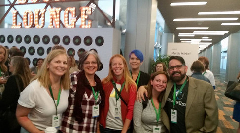 with Heather Kogut, Jacquie Murphy, Melanie Terrien, and Kristy Monahan