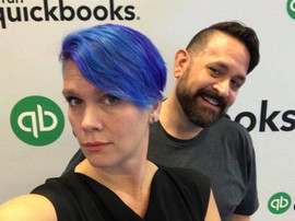 with Stacy Kildal, at QuickBooks Connect 2017