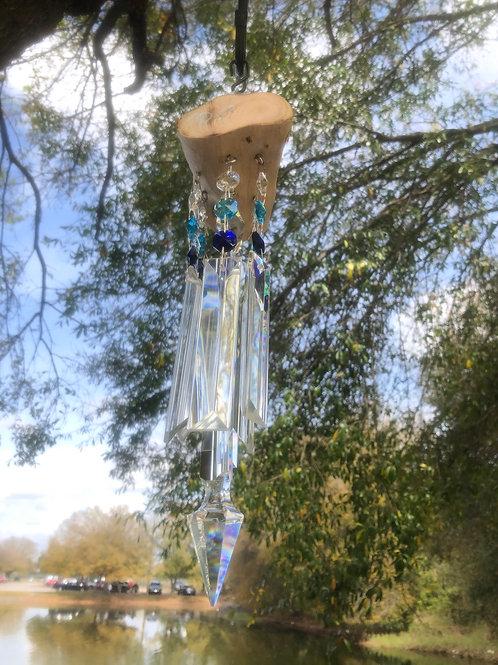 Natural 7 Suncatching Windchime