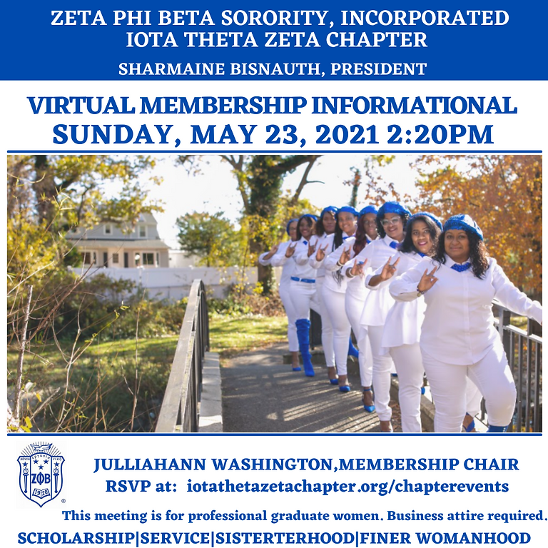 VIRTUAL MEMBERSHIP INFORMATIONAL
