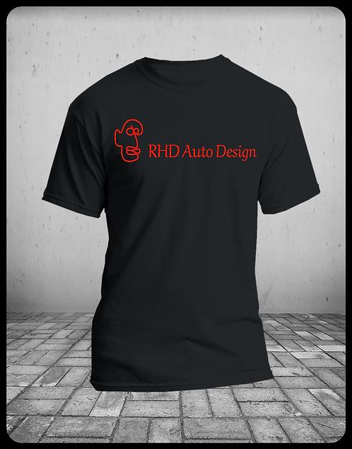RHD Auto Design Logo T-Shirt